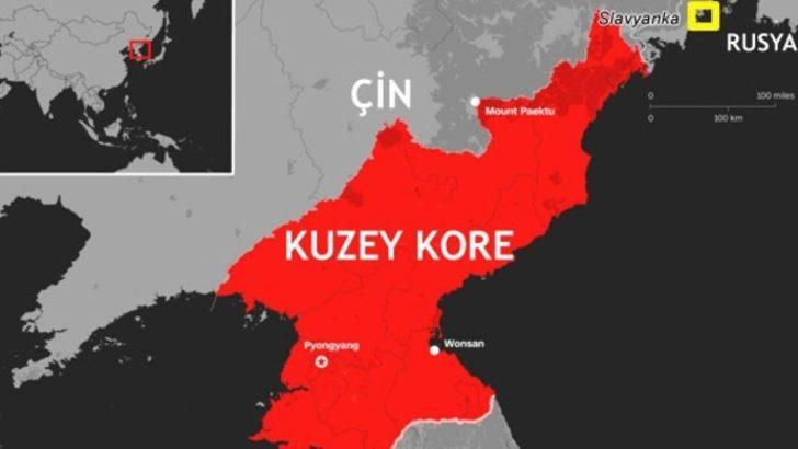 Dünyayı sarsan haber! Rus gemileri Kuzey Kore'ye taşıyor!