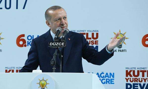 Cumhurbaşkanı Erdoğan: Artık af yok