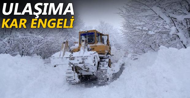 411 Köy Yolu Kardan Kapandı
