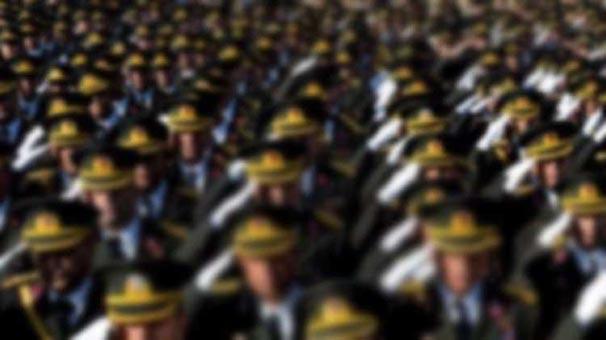 TSK'da rütbeli askerlerin tamamına FETÖ incelemesi