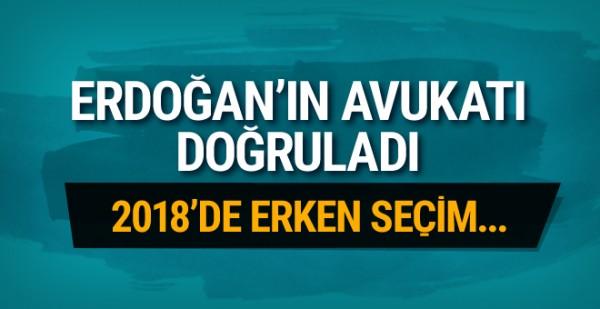 Erdoğan'ın avukatı doğruladı!
