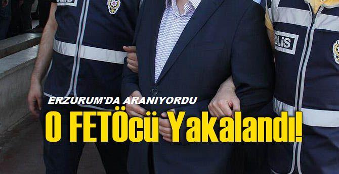 Erzurum'da aranıyordu, yakalandı!