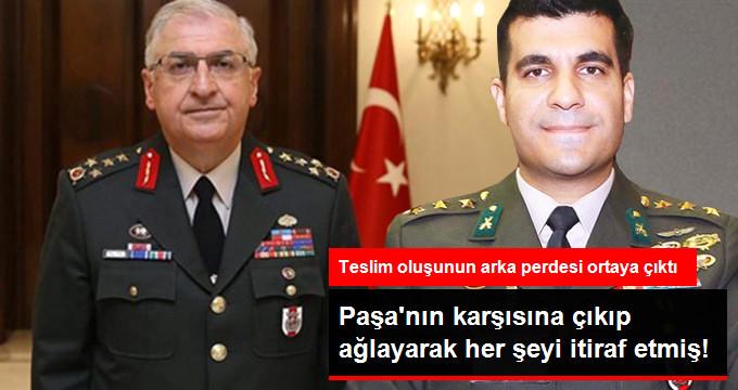Yüzbaşı Akın, Org. Yaşar Güler'e Ağlayarak İtiraf Etmiş