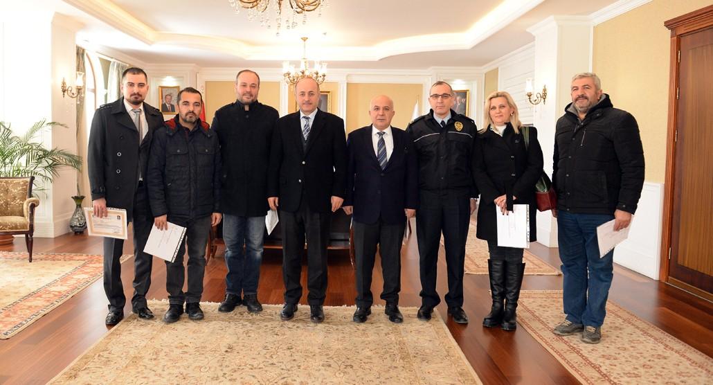 Erzurum Polisinden örnek davranış!