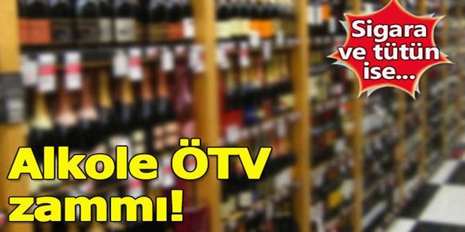 Alkollü içkilerde ÖTV artışı