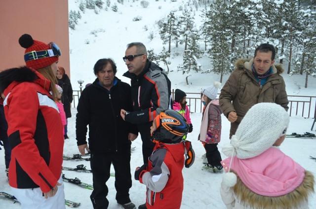 Erzurum Gençlik Spor Geleceğin Kayakçılarını Yetiştiriyor