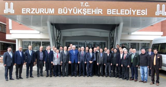 AK Parti Genel Başkan Yardımcısı Kaya'dan Sekmen'e Hizmet Teşekkürü