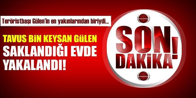 FETÖ elebaşı Gülen'in firari yeğeni Keysan Gülen yakalandı