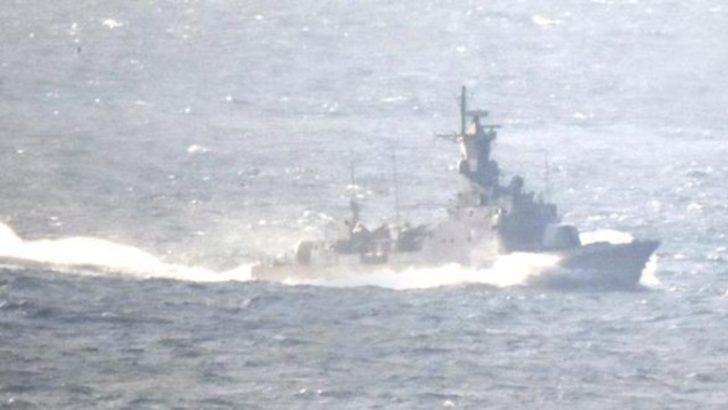 Çipras bugün Kardak'a mı çıkacak? Türk savaş gemisi bölgede