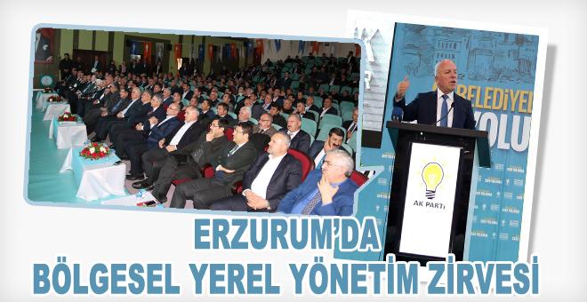 Erzurum'da Bölgesel Yerel Yönetim Zirvesi