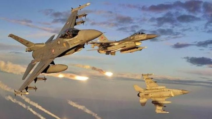 'F-16 ve Özel Kuvvetler ile sınırda UFO kovalanmış'