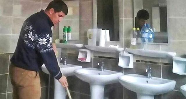 Tuvalet Temizleyen Milli Güreşçiyle İlgili Soruşturma Başlattı