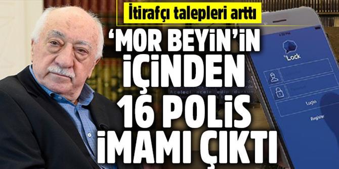 'Mor Beyin'in içinden 16 polis imamı çıktı