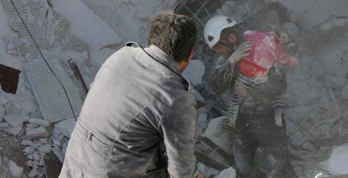 Rejimin saldırılarında 400 sivil öldü