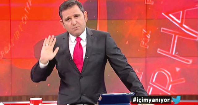 Fatih Portakal canlı yayında kendini tutamayıp güldü