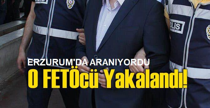 Erzurum'da aranan o vaiz yakalandı
