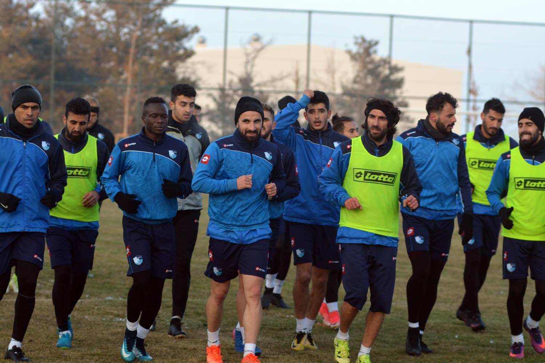 B.B.Erzurumspor, MKE Ankaragücü maçı hazırlıklarına başladı