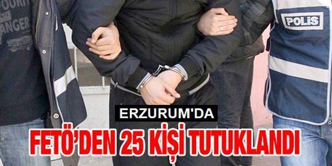 Erzurum'daki Fetö/pdy'nin Mahrem Yapılanması Operasyonu