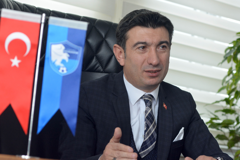 BB. Erzurumspor Kulübü Başkanı Doğan: