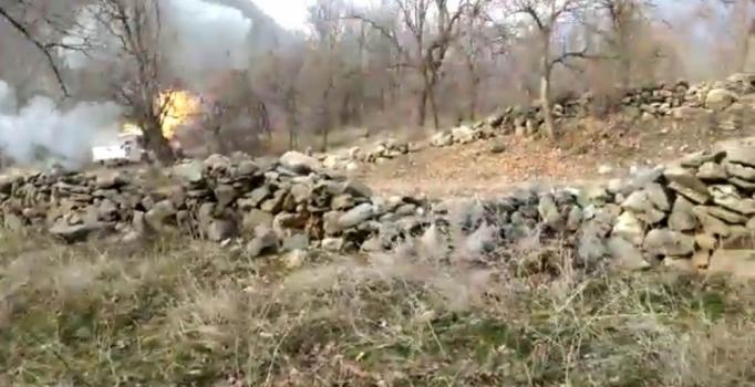 PKK'nın bombalı eylemde kullanacağı değerlendirilen kamyonet imha edildi