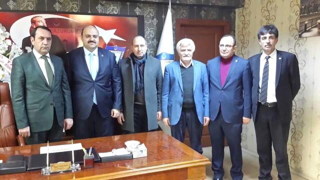 Başkan Orhan'dan Karakaya'ya Ziyaret