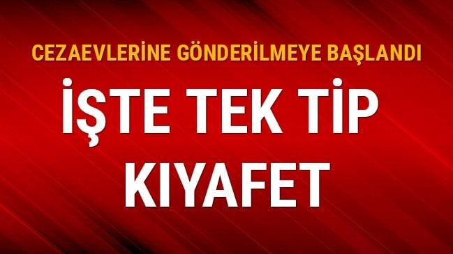 KHK kapsamında çıkarılan tek tip kıyafetler Diyarbakır Cezaevi'ne gönderildi