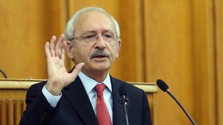 Kılıçdaroğlu kürsüyü yumruklayarak haykırdı: