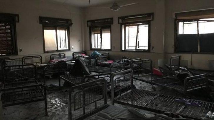 PKK Azez'de sivil hastaneyi vurdu! Kahreden fotoğraflar