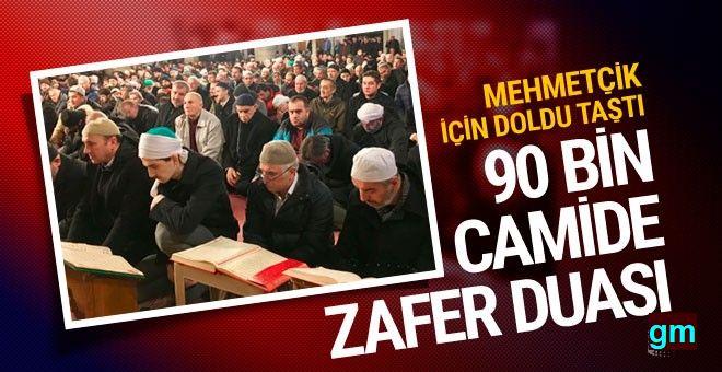 "90 bin camide Mehmetçik'e ""zafer duası"" edildi..."