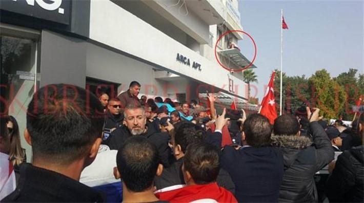 Erdoğan'ın 'cevap verilmeli' dediği gazeteye saldırı anları ortaya çıktı