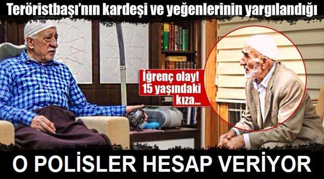 Erzurum'da Fetö/pdy Bağlantılı Cinsel İstismar Davası