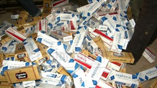 Erzurum'da 11 Bin 500 Paket Kaçak Sigara Ele Geçirildi
