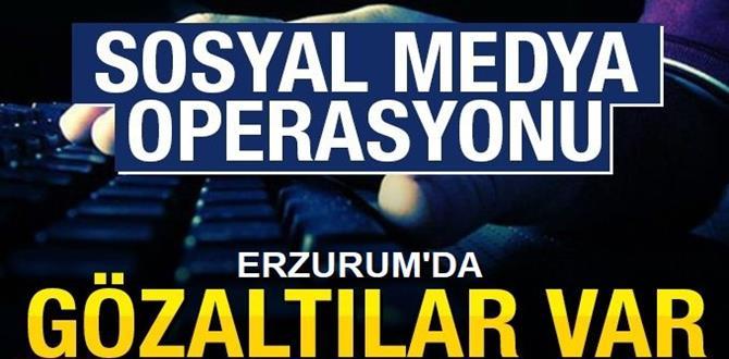 Erzurum'da 10 kişi hakkında işlem başlatıldı