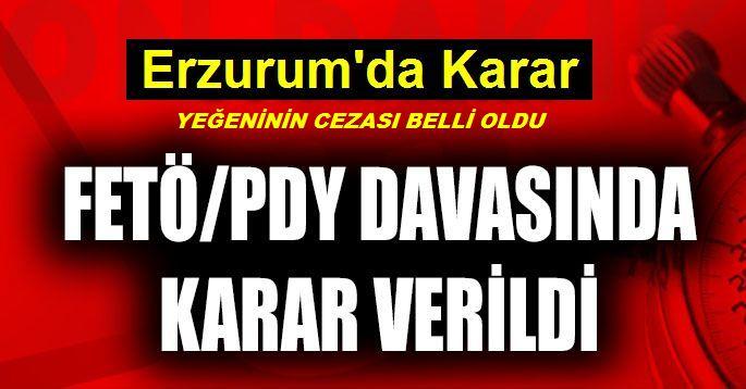 Gülen'in Yeğenine 6 Yıl 3 Ay Hapis