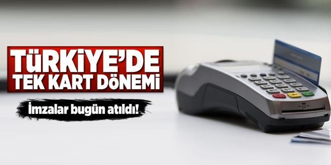 Yıldırım 'Türkiye Kart'ın tarihini açıkladı.
