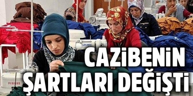 'Cazibe'nin şartları değişti