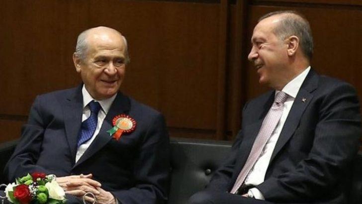 AK Parti - MHP ittifakında formül bulundu