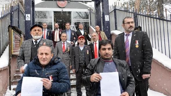 Erzurumlu gaziler, Zeytin Dalı Harekâtı'na katılmak için dilekçe verdi