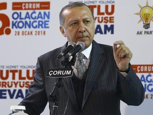 Erdoğan'dan Afrin açıklaması: Burseya tepesini de düşüreceğiz