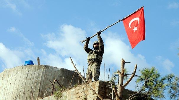 Zeytin Dalı Harekatı'nda son durum! Burseya alındı, Afrin göründü