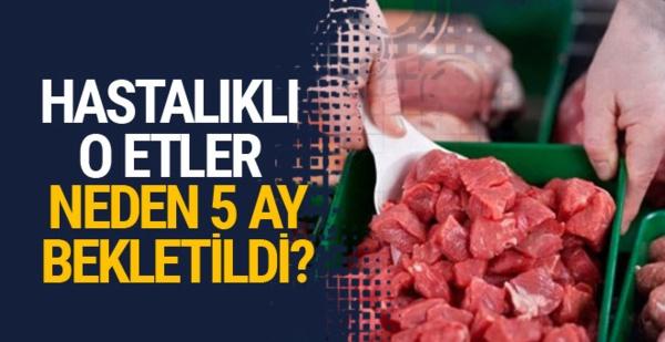Bosna'dan gelen 20 ton hastalıklı et için flaş açıklama
