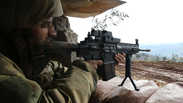 TSK stratejik tepeyi ele geçirdi! MPT-76'larla mevzide...