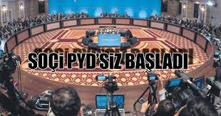 Soçi'de yetki Türkiye'ye verildi