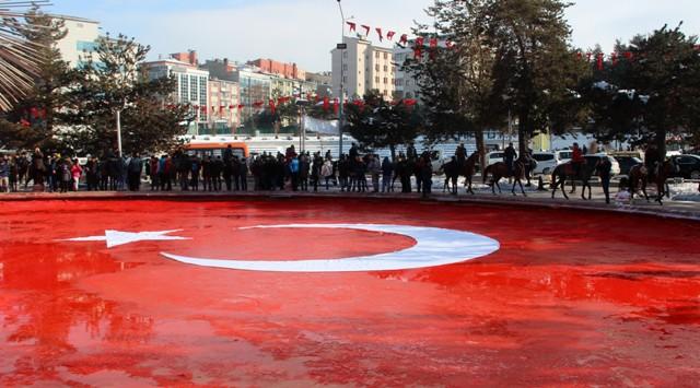 Erzurum'da Mehmetcik'e destek
