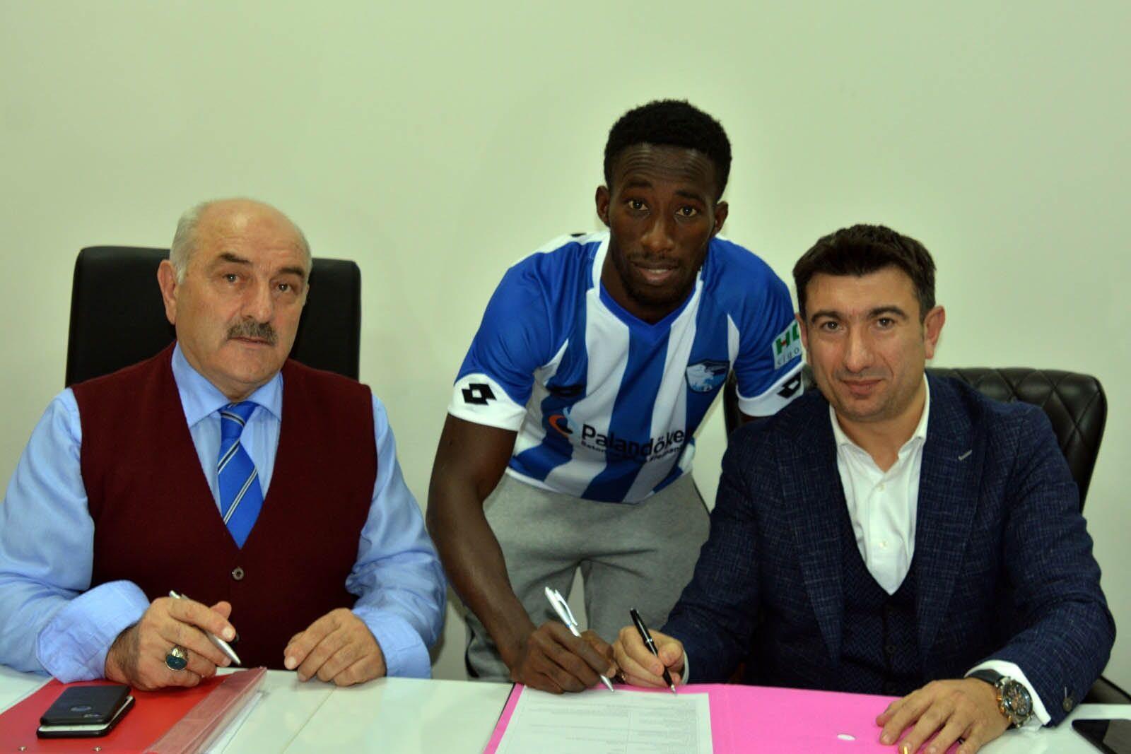 B.B. Erzurumspor, Demba Savage ile iki yıllık sözleşme imzaladı