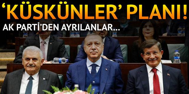 Küskünler Grubu planı: Ahmet Davutoğlu geri mi dönüyor?