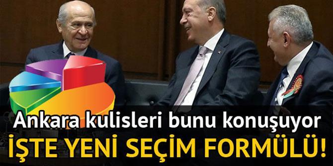 AK Parti-MHP ittifakında kritik formül...