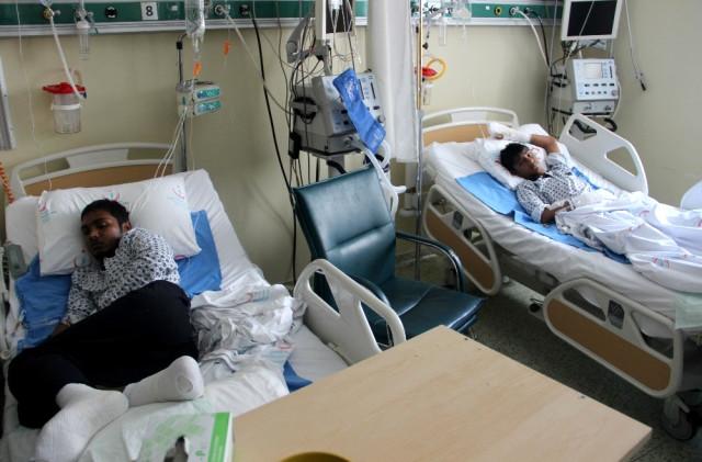 Pakistanlı 3 Mültecinin Umuda Yolculuğu Hastanede Son Buldu