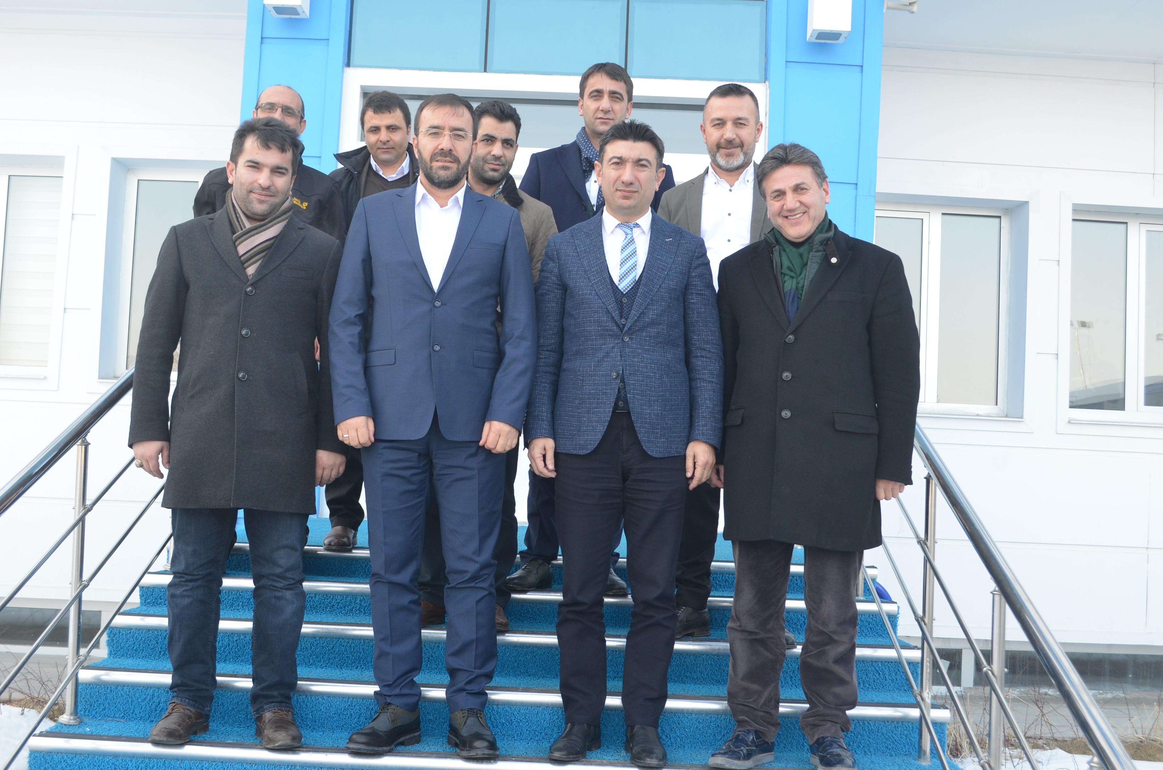 TAF Başkanı Çintimar'dan BB Erzurumspor'a ziyaret