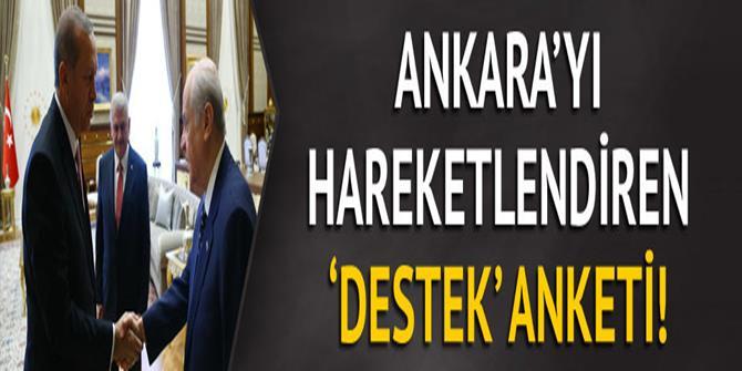 Bahçeli-Erdoğan ittifakına destek yüzde kaç?